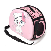 2019 Cute Cat Dog Print Bag Foldable Out Convenient Bags Cage New Cartoon Pet Single Shoulder Diagonal Portable Breathable