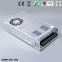 24V 10A 250W Switching switch Power Supply For Led Strip Transformer 110V 220V AC to dc SMPS with Electrical Equipment high quality manual dc ac generator laboratory electrical experiment equipment