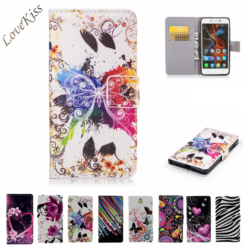 Flower Wallet Leather Phone Bag For <font><b>Lenovo</b></font> Vibe K5 A6020a40 <font><b>Case</b></font> / Lemon 3 K5 Plus <font><b>A6020a46</b></font> A6020 K5Plus <font><b>Cases</b></font> Cover Capa Holder image
