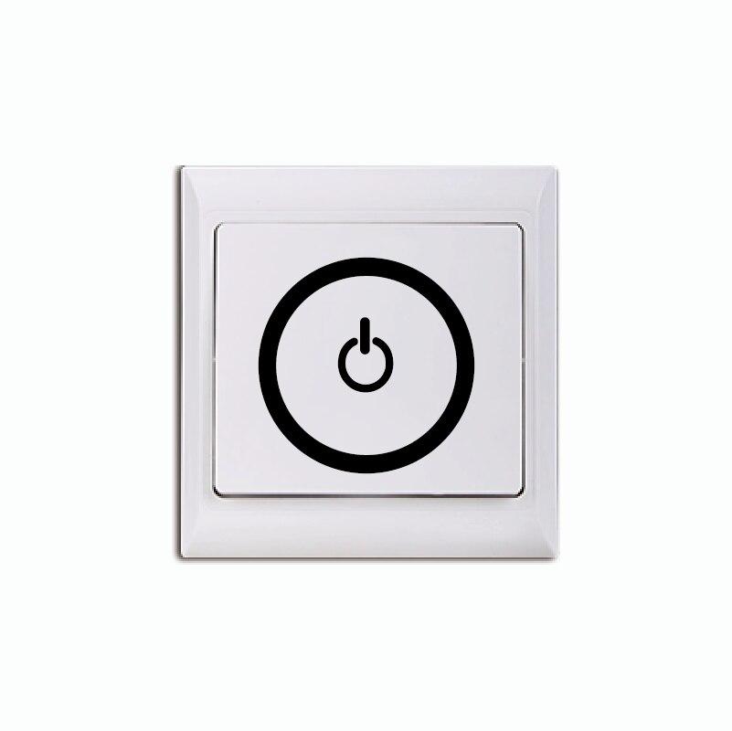 Kreative Eletricity Aufkleber Schalten/Auf PC Symbol Licht Schalter ...