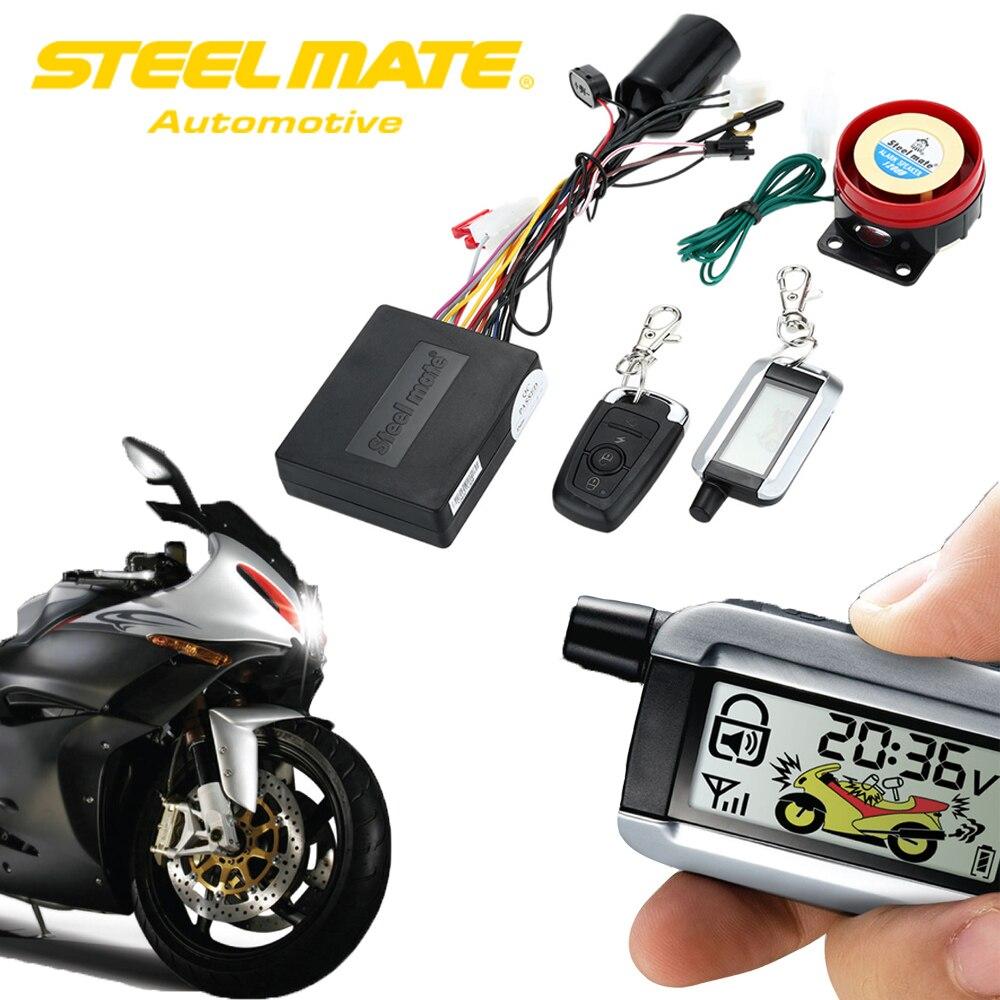 Система сигнализации Steelmate с автоматической кнопкой Start Stop 986XO пульт дистанционного управления Центральный замок двигателя Starline Anti-theft Security
