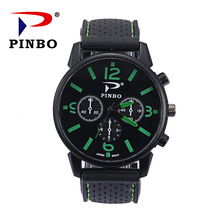 Relogio Masculino Fashion Men Watch Military outdoor Sports Watches men Luxury Brand Leather Quartz Watches Erkek Saatler C fashion watches men double movt numbers and strips hours marks leather band quartz men sports watches military watch relogio page 3