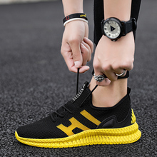 Buy GUDERIAN Breathable Mesh Sneakers Men Casual Shoes Lace-Up Male Shoes Adult Lightweight Summer Shoes Men Deportivas Hombre directly from merchant!