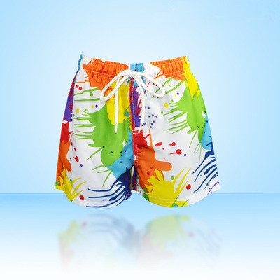 Summer teenage big boys swimming shorts