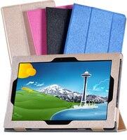 Miix 210 Magnet Silk Grain PU LEATHER Flip case Capa Para Lenovo Miix2 Miix 2 210 10.1