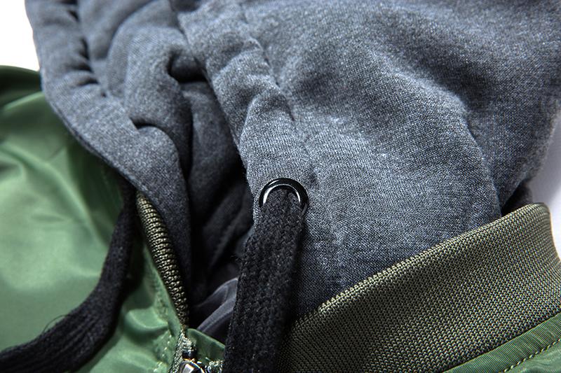Topdudes.com - Hip-hop Aviator Embroidery Patch Bomber Jacket