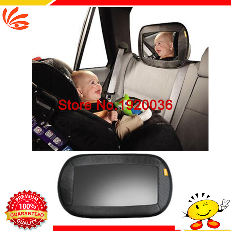 Car styling Adjustable Black Car Seat Safety View Back Mirror Baby Rear Ward Facing Family Travel Safety Baby Kids Monitor