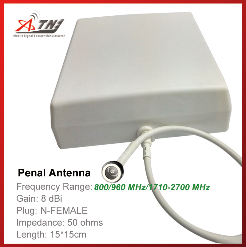 New Arrival !!Top Quality+ High Gain 7/8dbi , ATNJ 800-2500mhz Outdoor Penal Antenna For 2G 3G 4G Signal Booster