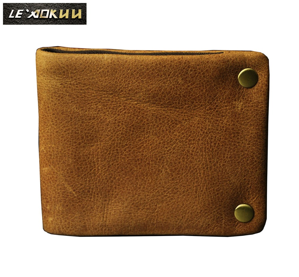 Original leather Men Designer Wallet Male Horizontal Fashion Business Credit Card Case Holder Zipper Wallet Purse With Snap 1003 cube wp10 steel wire texture horizontal flip leather case with holder