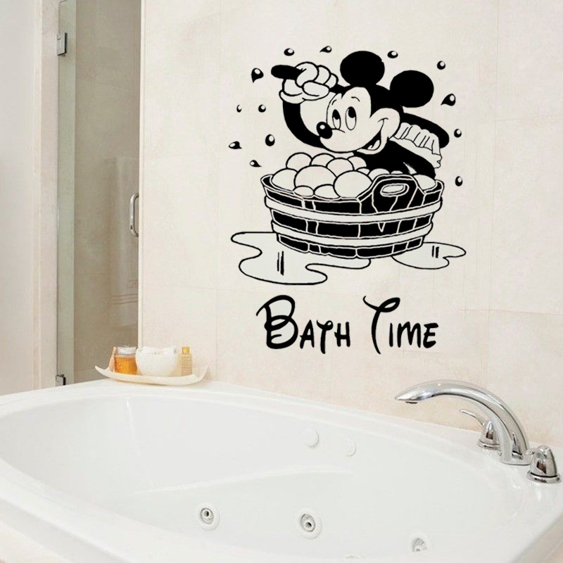Bathroom Wall Decal Vinyl Stickers