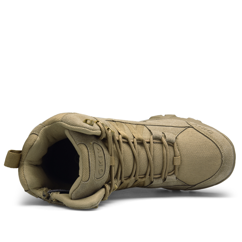 Mode Cheville D'hiver Confortable Khaki Travaillent Chaussures Désert Hommes Combat brown 2018 Armée De Militaires Neige Bottes 8nwOymNv0P