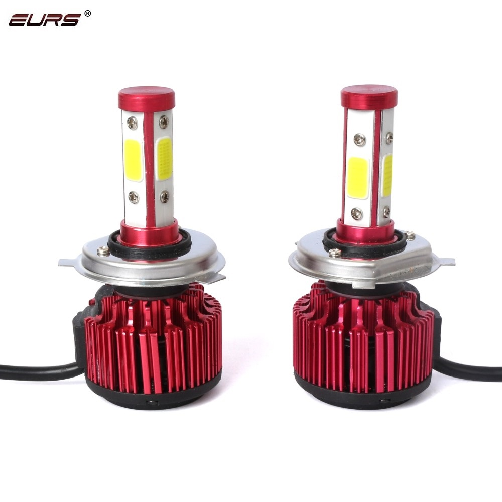 2pcs H4 <font><b>LED</b></font> H7 Car <font><b>Headlight</b></font> Bulb COB X6 HB3 HB4 5202 H13 9005 9004 H11 <font><b>LED</b></font> <font><b>Headlight</b></font> 6500K 8000LM <font><b>360</b></font> Degree Auto lamp Bulb image