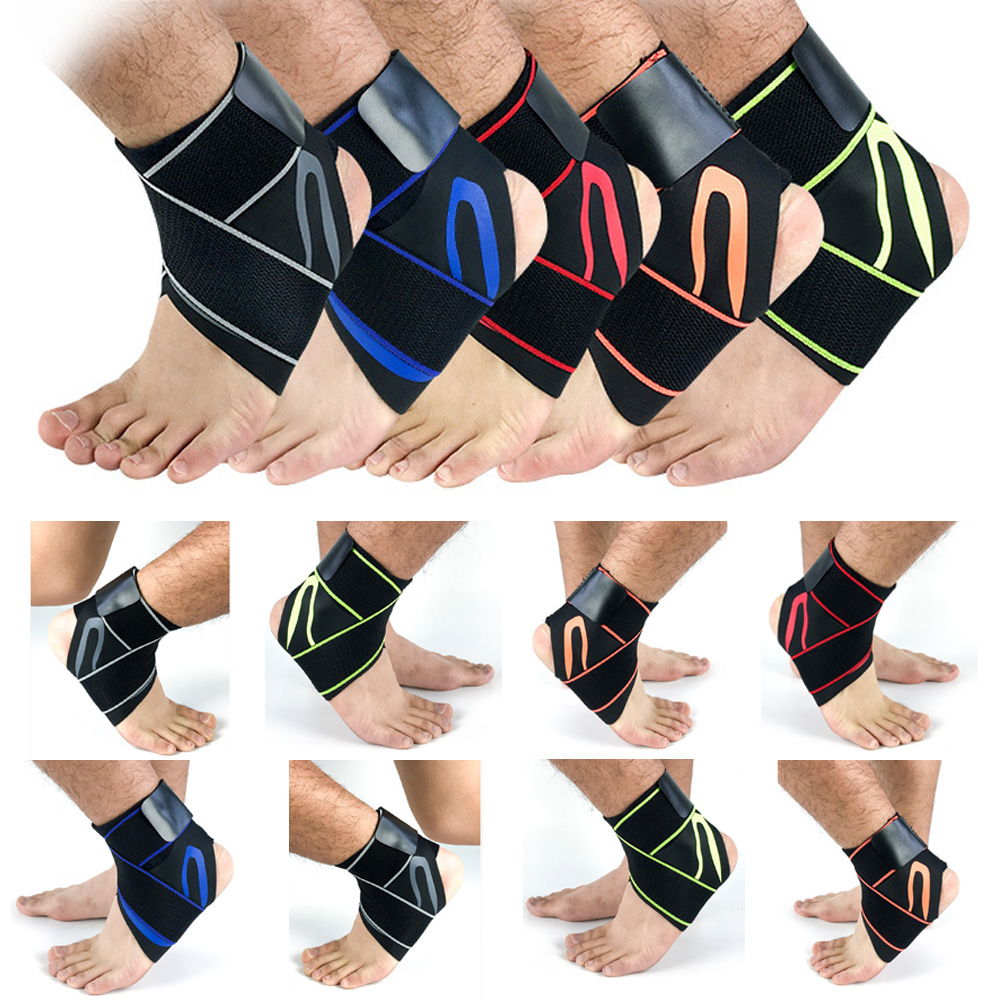 Support Foot Brace Guard Compression Bandages Movement To Protect The Ankle LFSPR0088