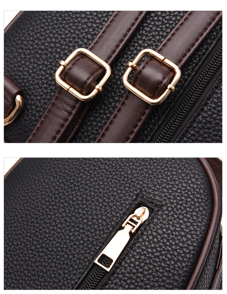 HTB1RAkJtASWBuNjSszdq6zeSpXab Brand New Leather Small Women Backpacks Zipper Shoulder Bag Female Phone Bags Lady Portable Backpack for Girls Casual Style