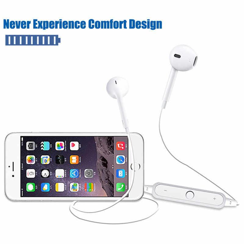 Спортивный нашейный беспроводной наушник музыкальные наушники гарнитура Bluetooth наушники с микрофоном для всех телефонов для huawei для Xiaomi