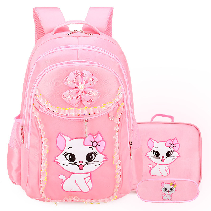 2018 Children School Bags Girls Orthopedic Backpacks Waterproof princess Backpack primary school Backpack Kids Satchel Mochila