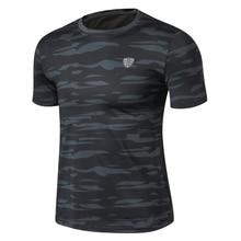 Большие размеры мужские уличные треккинговые походные футболки для охоты рыбалки Военная тактическая футболка камуфляжная армейская быстросохнущая Спортивная футболка для спортзала