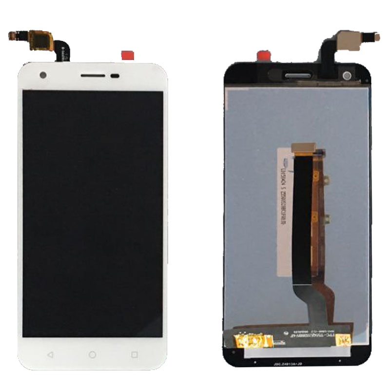 ФОТО  LCD Display Glass Touch Screen Digitizer Assembly For Alcatel Vodafone Smart Ultra 6 VF995N VF995 White