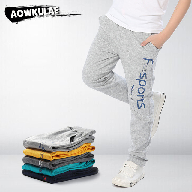 d9cae80a5281 New Fashion Brand Baby Kids Boys Pants Cotton Trousers Children Sport Pants  Teenager Big Boy Casual Kids Clothes