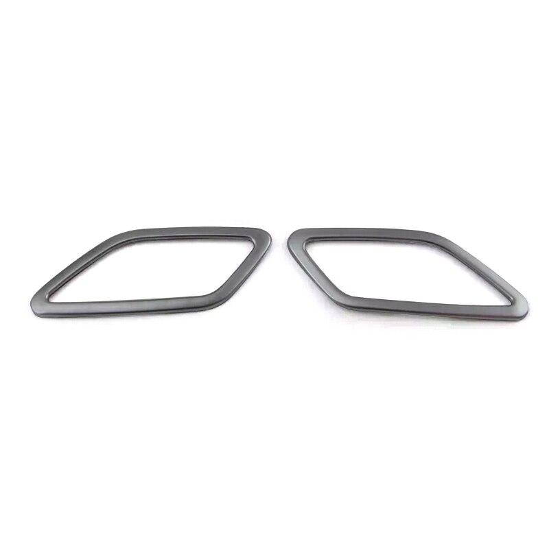 2014 2015 For Mercedes-Benz CLA-Class C117 W117 Interior Molding Dashboard Upper AC Air Vent Cover Trim 2pcs Mercedes-Benz CLA-класс