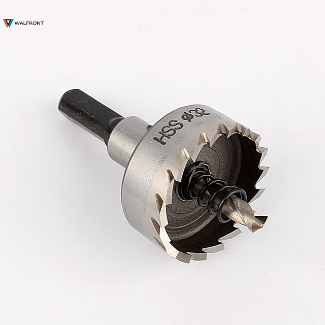 32mm Stainless Steel Tipped Drill Bit Metal Hole Saw Cutter Heavy Duty New