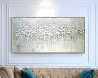 Abstract Oil Painting on Canvas Art Wall Picture For Living Room Home Decor Frameless hand Painted flo