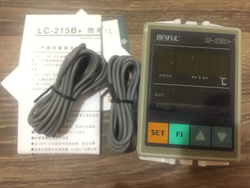 LC 215B temperature difference between the temperature difference controller instrument with two sensing lines BESFUL Solar