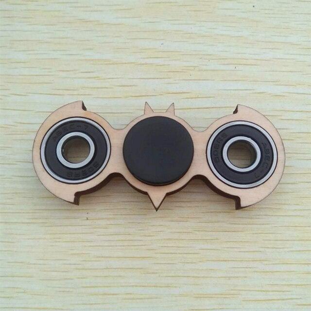 Wood made Непоседа Счетчик Ручной Счетчик Бэтмен Пользовательского Подшипник Игрушки