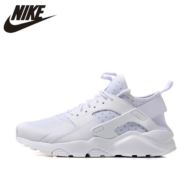 75a54fcda177 NIKE AIR HUARACHE 2017 Original Authentic Cushioning Men s Running Shoes  Sneakers Sports Outdoor Footwear Breathable Athletics