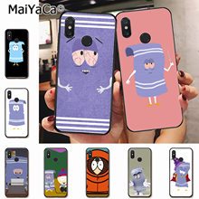 MaiYaCa New towelie episode Anti-dirty cute Phone Case for xiaomi mi 6 8 se note2 3 mix2 redmi 5 5plus note 4 5 5 case coque(China)