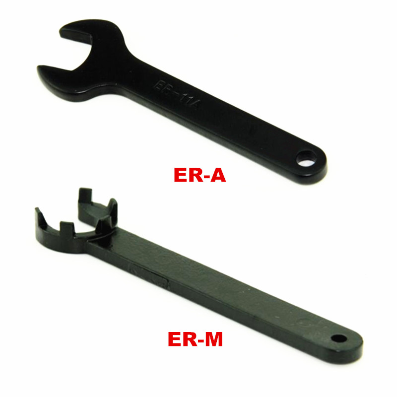 ER Collet Spanner Wrench ER11 ER16 ER20 A And M Type For ER Nut CNC Milling Machine Tool