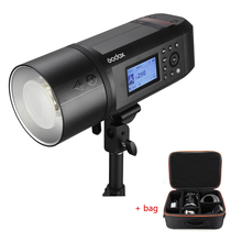 Godox AD600 Pro WITSTRO All-in-One Outdoor Flash AD600Pro Li-on Battery TTL HSS with Built-in 2.4G Wireless X System for Studio godox ad600 pro witstro all in one outdoor flash ad600pro li on battery ttl hss built in 2 4g wireless x system for canon nikon