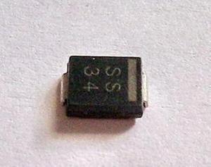 SS34 SMA diodes 1n5822 Free shipping 100pcs/lot