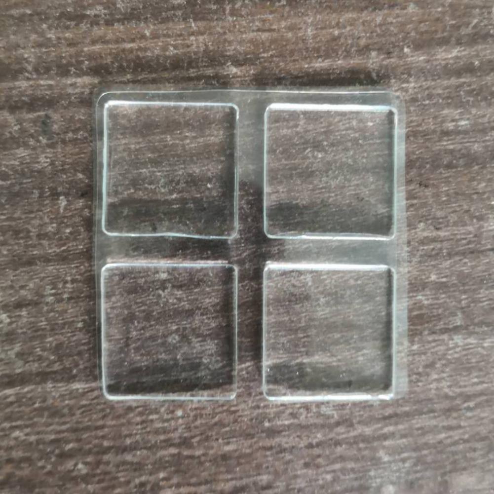 4pcs Non-slip Stair Tread Tape Luminous PVC Mat In Stair Car Glowed In The Dark For Home