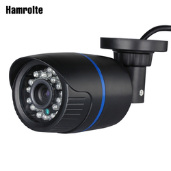 Hamrolte ONVIF IP Camera 2.8mm Lens Wide Angle 1080P Outdoor Nightvision Surveillance IP Camera Motion Detection Remote Access