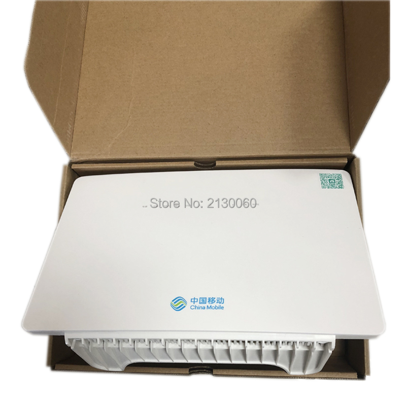 5pcs/lot ONT HS8546V HS 8546V GPON Router FTTH GPON ONU 4GE 4Port+1TEL+2USB+Wifi English Firmware For Huawei MA5608T/MA5683T
