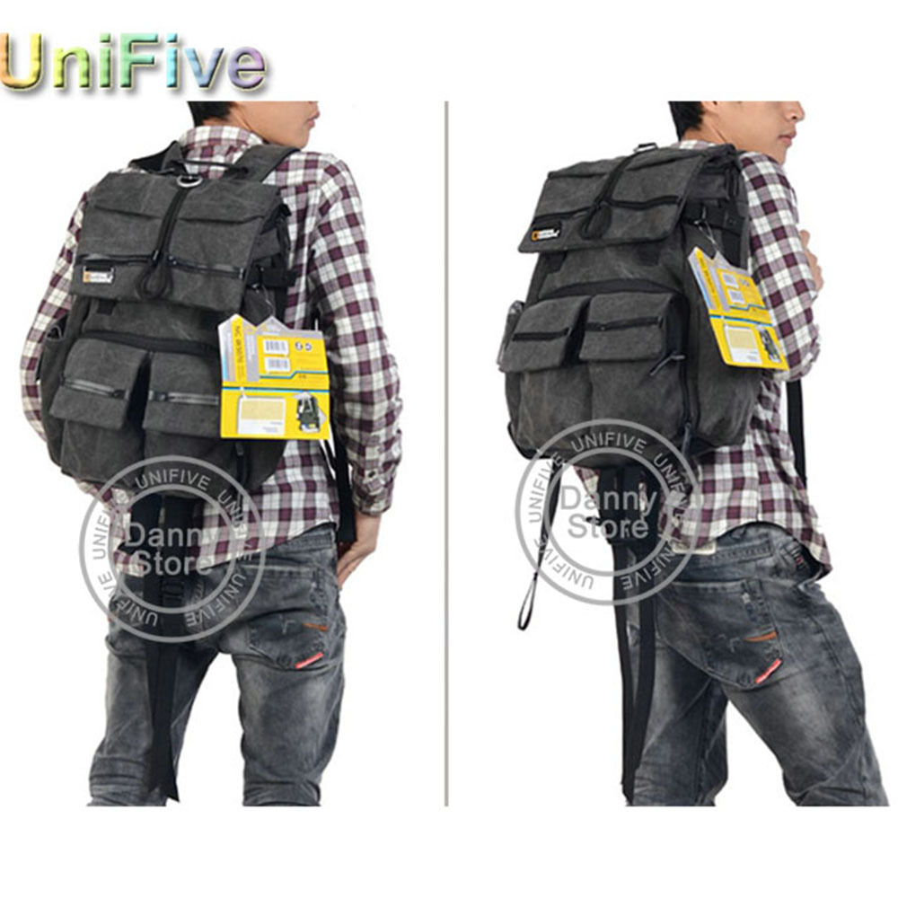 3c8198d0f83 National Geographic Walkabout 5070 NGW5070 NG W5070 doubleshoulder DSLR  Camera Rucksack Backpack Laptop bag for Canon Nikon Sony-in Camera Video  Bags from ...