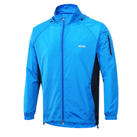Anti sweat Cycling Coat Cycling Bike Bicycle Clothing Coat Clothes Breathable Men Running Jacket Windproof Pack Clothes