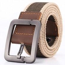 Men Belt Fashion Unisex Army Tactical Waist Belt Jeans Male Casual Luxury Canvas Webbing Waistband Ceinture
