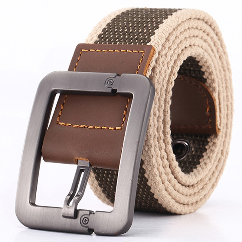 Men   Belt   Fashion Unisex Army Tactical Waist   Belt   Jeans Male Casual Luxury Canvas Webbing Waistband Ceinture