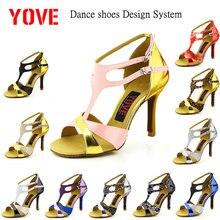 YOVE Design System w124 16 DIY Dance Shoe Women s Latin Salsa Dance Shoes