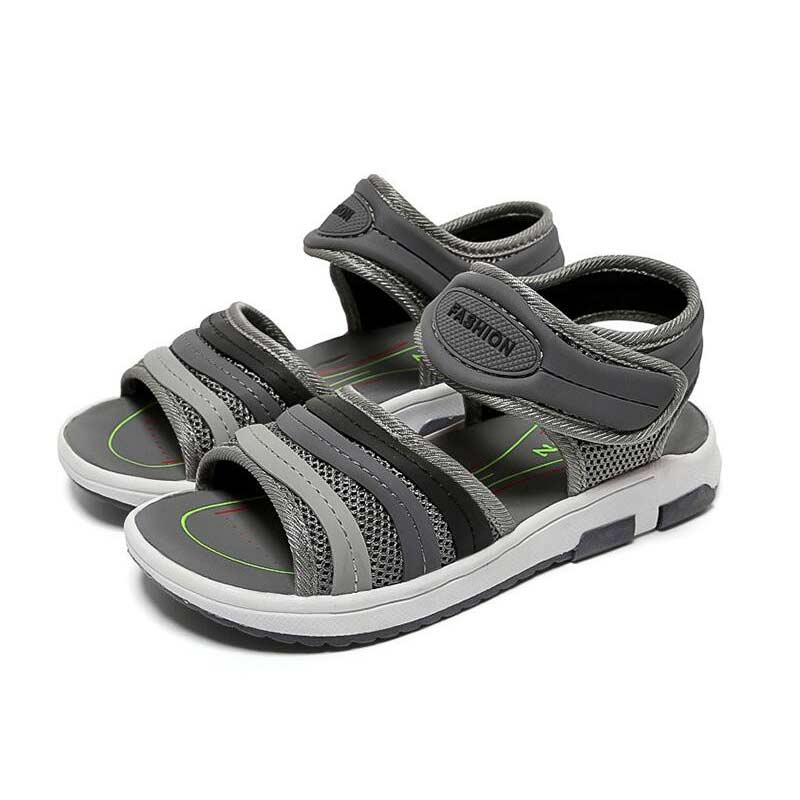 Unisex Shoe Child Sandals Boys Fashion Color Patchwork Shoes Girl Summer Antiskid And Soft Bottom Sandal Playa Shoe For Kids #8