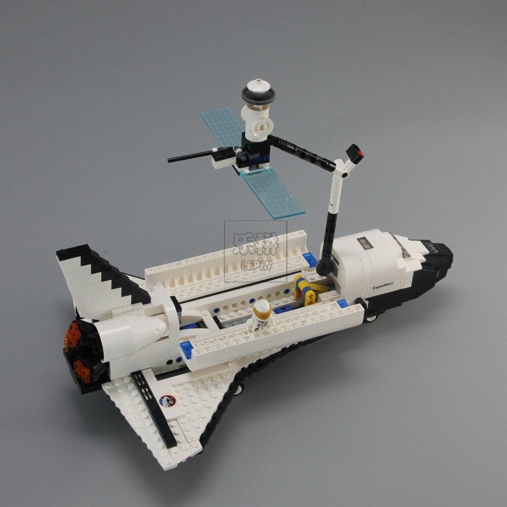 DHL Lepin 16014 1230 pcs Navette Spatiale Expédition Modèle Kits de Construction Blocs Briques Jouets Pour Enfants Compatible legoed 10231 - 6