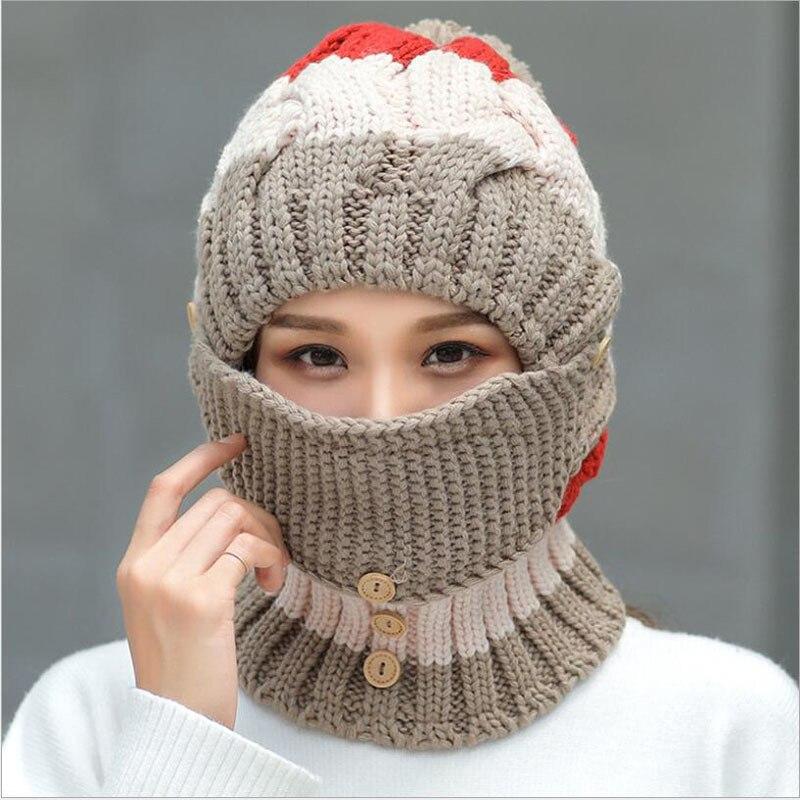 440f3a7f pom poms hat women beanie hat Womens Beanies black pink winter hat ...