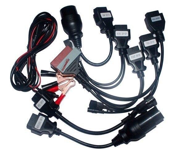 Prix pour Promotion prix! le plus bas! câbles de voiture 8 pcs pour VD TCS CDP pro câble OBD OBDII OBD2 Scanner Scan