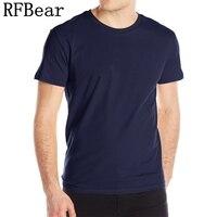 RFBEAR Brand Man Cotton Casual T Shirt 2017 New Fashion Summer T Shirt Men S O