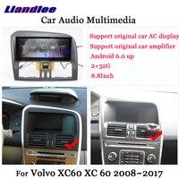 Liandlee Android для Volvo XC60 XC 60 2008 ~ 2017 стерео радио Carplay парковка Камера ТВ Wi Fi AUX gps навигатор мультимедиа