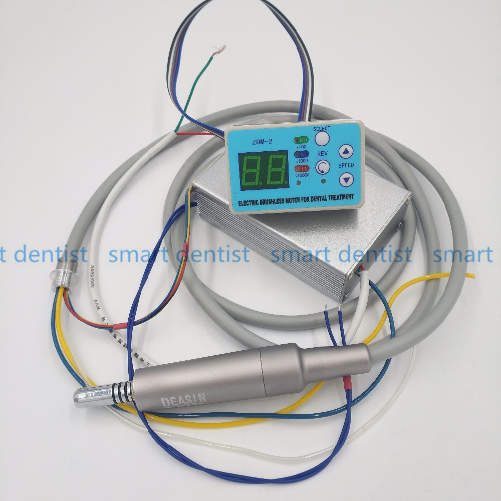 2018 New Dental unit built-in Brushless Electric Micro motor Cord FIT NSK NLX NANO inner water spray with fiber optic desmedt new developments in electromyogr neurophys iol new concepts of motor unit neuromuscdis