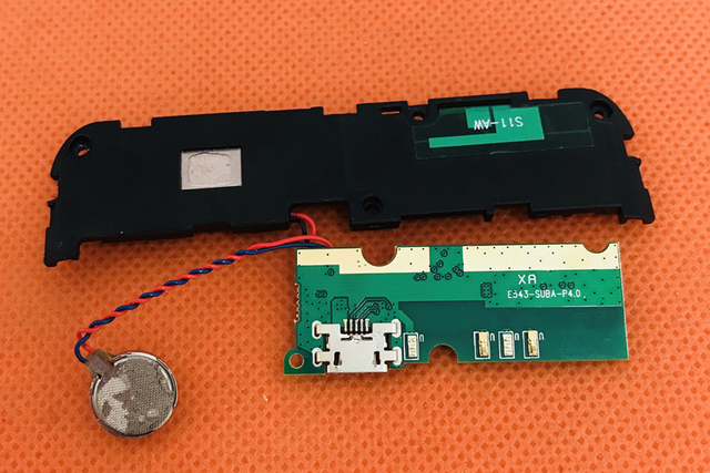 Używane Oryginalne Wtyczki USB Opłata Wyżywienie + głośniki Dla OUKITEL U11 Plus MTK6750T Octa Rdzeń 5.7 FHD Darmo wysyłka
