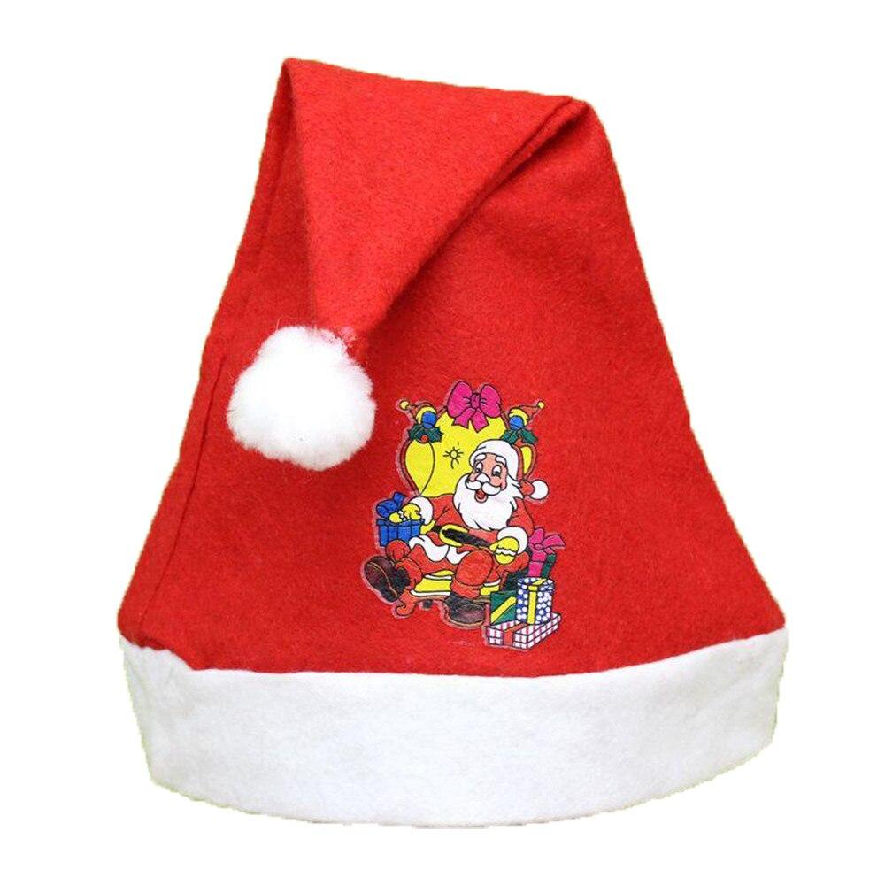 1 Stück Gute Qualität Neue Weihnachten Urlaub Weihnachten Cap Für Santa Claus Geschenke Weihnachten Party Modische Design Kappe Für Urlaub Hk & 50